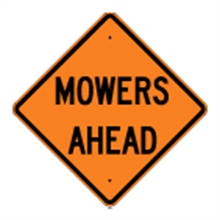 Picture of Mowers Ahead Sign (W21-6*22)