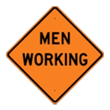 Picture of Men Working Sign (W21-1*22)