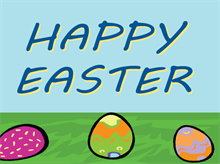 Picture of Happy Easter Yard Sign (HEYS#002)