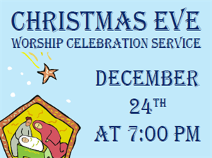 Picture of Christmas Eve Services Yard Sign (CEYS#002)