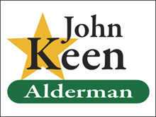 Picture of Alderman Yard Sign (APYS#002)