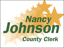 Picture of County Clerk Yard Sign (CC4YS#002)
