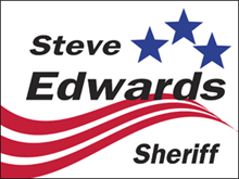 Picture of Sheriff Yard Sign (SP2YS#002)