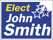 Picture of Elect Yard Sign (E2YS#002)