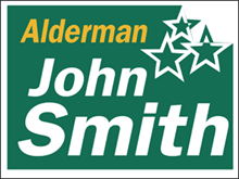Picture of Alderman Yard Sign (AP2YS#002)
