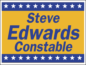 Picture of Constable Yard Sign (CP2YS#002)