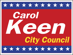 Picture of City Council Yard Sign (CC6YS#002)