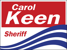 Picture of Sheriff Yard Sign (S3YS#002)