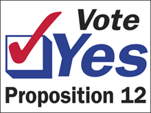 Picture of Vote Yes Yard Sign (VYYS#002)