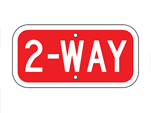 Picture of 2-Way Sign