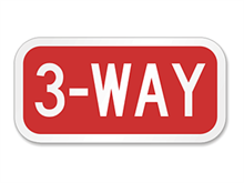 Picture of 3-Way Sign