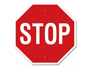 Picture of Stop Sign Sign