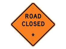 Picture of Road Closed Signs (W20-10*27)