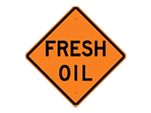 Picture of Fresh Oil Sign (W21-2*32)