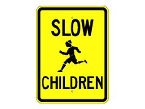 Picture of Slow Children Sign (G-2*9)