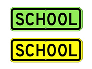 Picture of School Sign(S4-3*12)
