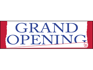 Picture of Grand Opening Banner (GOB#001)