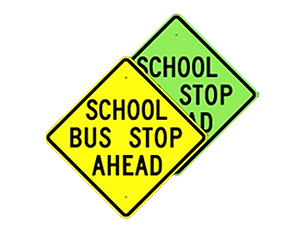 Picture of School Bus Stop Sign (S3-1*22)