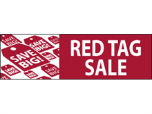 Picture of Red Tag Sale Banner (RTS3B#001)
