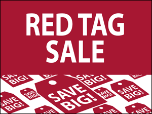 Picture of Red Tag Sale Yard Sign (RTS2YS#002)