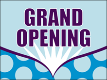 Picture of Grand Opening Yard Sign (GOYS#002)