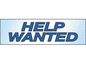 Picture of Help Wanted Banner (HW2B#001)