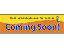 Picture of Comming Soon Web Site Banner (CSWSB#001)