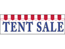 Picture of Tent Sale Banner (TS2B#001)