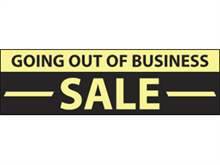 Picture of Going Out of Business Sale Banner (GOBB#001)