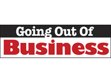 Picture of Going Out of Business Banner (GOB2B#001)