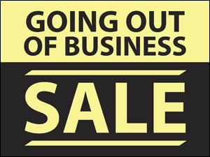 Picture of Going Out Of Business Yard Sign (GOBYS#002)