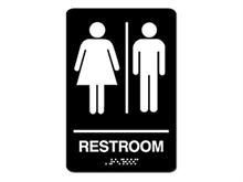 Picture of ADA Braille Women/Men Sign