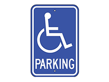 Picture of  Handicap Parking (G-40RA5)