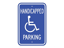 Picture of Handicap Parking (G-42RA5)