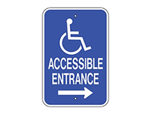 Picture of Handicap Accessible Entrance Right (G-65RRA5)