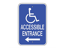Picture of Handicap Accessible Entrance Left (G-65LRA5)