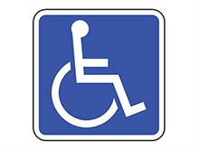 Picture of Handicap Sign (D9-6RA8)