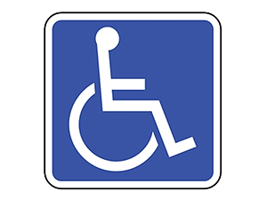 Picture of Handicap Sign (D9-6RA4)