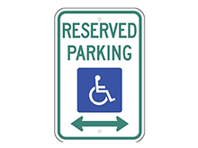 Picture of Handicap Reserved Parking (R7-8RA5)
