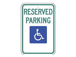 Picture of Handicap Reserved Parking (R7-8NRA5)