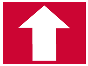 Picture of Up Directional Yard Sign (DUYS#002)