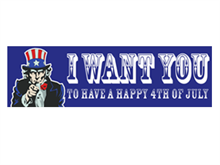 Picture of Happy 4th of July Banner (HFB#001)