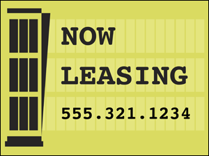 Picture of Now Leasing Yard Sign (NLYS#002)