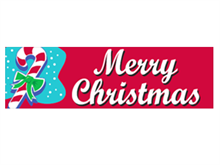 Picture of Merry Christmas Banner (MCB#001)