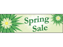Picture of Spring Sale Banner (SS2B#001)