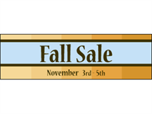 Picture of Fall Sale Banner (FS2B#001)