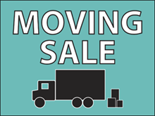Picture of Moving Sale Yard Sign (MSYS#002)