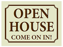 Picture of Open House Yard Sign (OHYS#002)