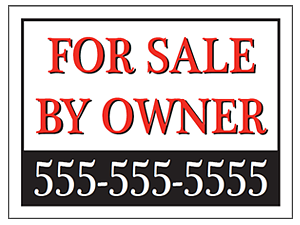 Picture of For Sale By Owner Yard Sign (FSOYS#002)