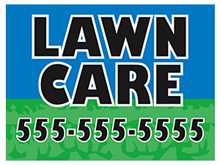 Picture of Lawn Care Yard Sign (LCYS#002)